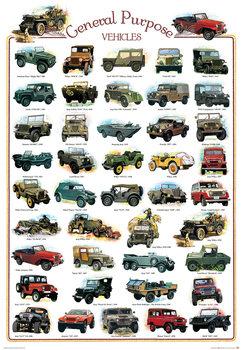 Plagát General purpose vehicles