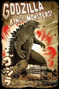 Plagát Godzilla -  King of the Monsters