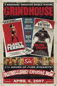 Plagát GRINDHOUSE - one sheet