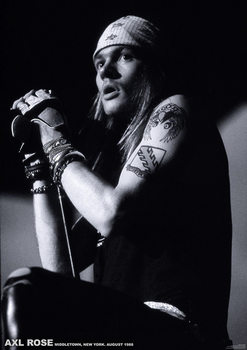 Plagát Guns N´ Roses - Axl Rose Middletown New York 1988