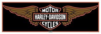 Plagát Harley Davidson - wings