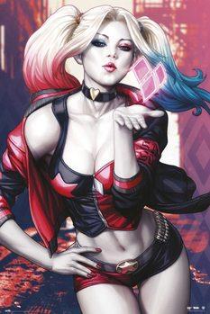 Plagát Harley Quinn - Kiss