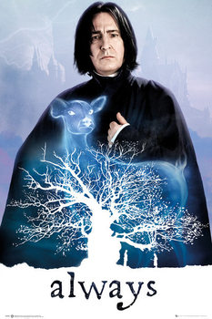 Plagát Harry Potter - Snape Always