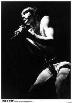 Plagát IGGY Pop - London 1977