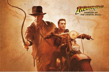 Plagát Indiana Jones a Kráľovstvo krištáľovej lebky