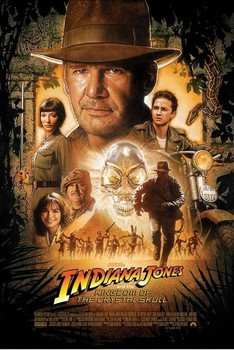 Plagát INDIANA JONES - kingdom of the crystal skull one sheet