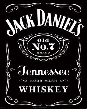 Plagát Jack Daniel's - Label