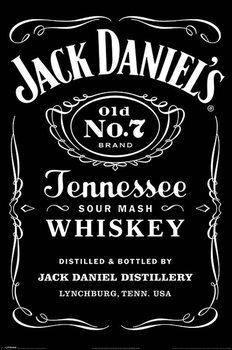 Plagát Jack Daniels - Label