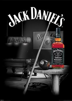 Plagát Jack Daniels - pool rooms