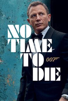 Plagát James Bond - No Time To Die - Azure Teaser