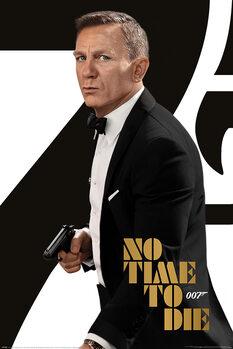 Plagát James Bond No Time To Die - Tuxedo