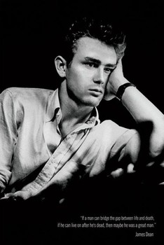 Plagát JAMES DEAN - great man