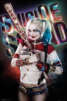 Plagát  Jednotka samovrahov - Harley Quinn Good Night