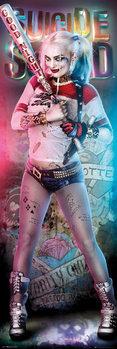 Plagát Jednotka samovrahov - Harley Quinn