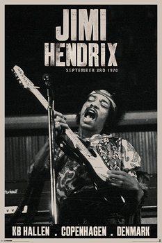 Plagát Jimi Hendrix - copenhagen