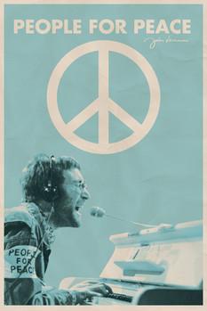 Plagát John Lennon - people for peace