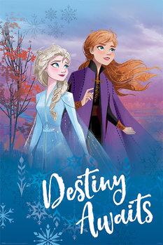 Plagát Ľadové kráľovstvo 2 - Destiny Awaits