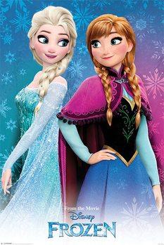 Plagát Ľadové kráľovstvo - Sisters