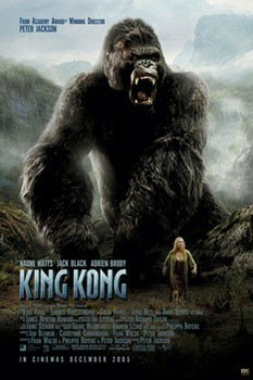 Plagát  KING KONG - roar one sheet