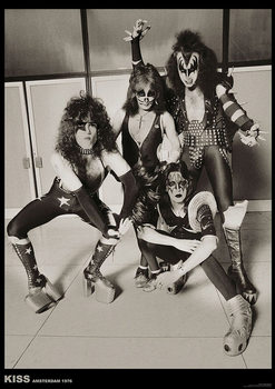 Plagát Kiss - Amsterdam 1976
