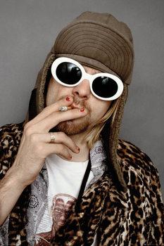 Plagát Kurt Cobain - Colour