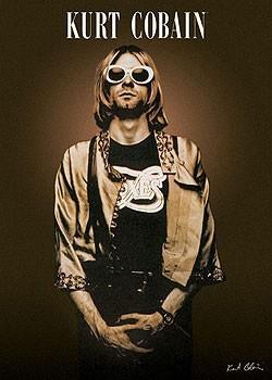 Plagát Kurt Cobain - shades