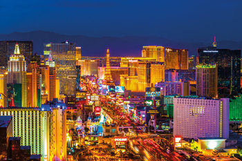 Plagát Las Vegas - strip