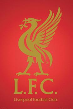 Plagát Liverpool - club crest 2013