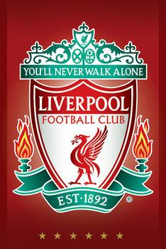 Plagát Liverpool FC - Crest