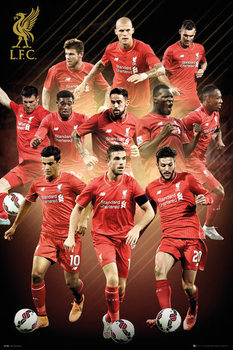 Plagát Liverpool FC - Players 15/16