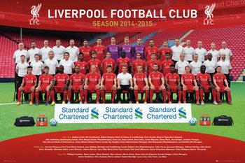 Plagát Liverpool FC - Team Photo 14/15
