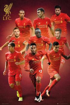 Plagát Liverpool - Players 16/17