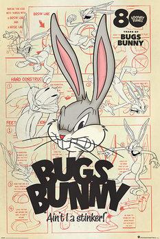 Plagát Looney Tunes - Bugs Bunny Aint I a Stinker