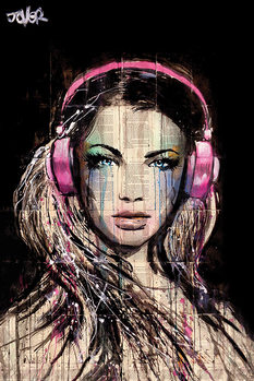 Plagát Loui Jover - DJ Girl