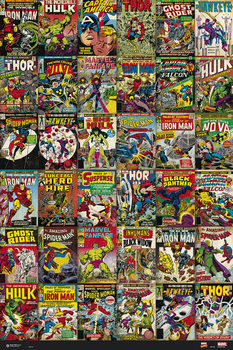 Plagát Marvel - Classic Cover