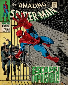 Plagát Marvel Comics - Spider-Man - Escape Impossible