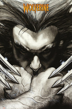 Plagát Marvel Comics - Wolwerine claws