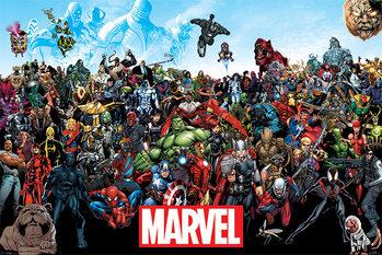 Plagát Marvel - Universe