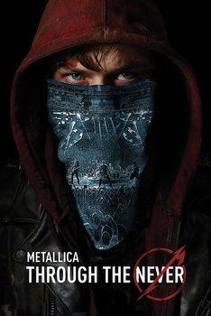 Plagát Metallica - through the never