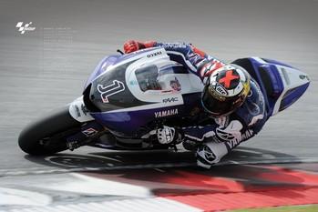 Plagát Moto GP - jorge lorenzo