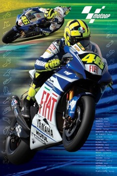 Plagát Moto GP - rossi