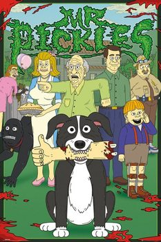 Plagát  Mr. Pickles - Characters
