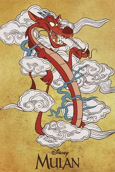 Plagát Mulan - Mushu