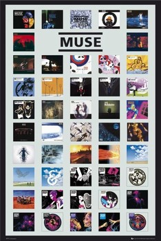 Plagát Muse - covers