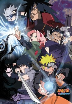 Plagát Naruto Shippuden - Group Ninja War