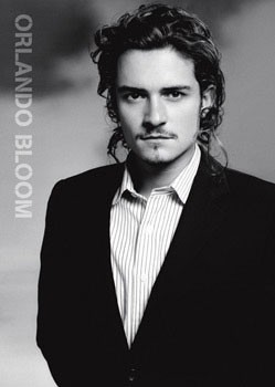 Plagát Orlando Bloom - suit