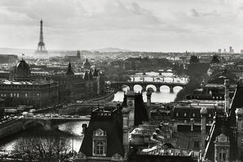 Plagát Paríž - view