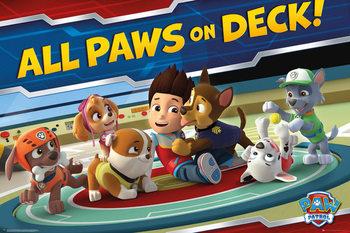 Plagát Paw Patrol - Paws