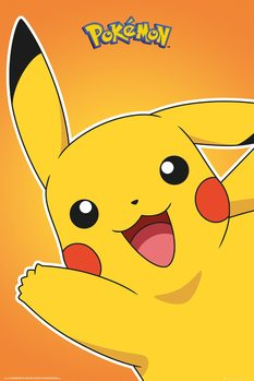 Plagát Pokemon - Pikachu