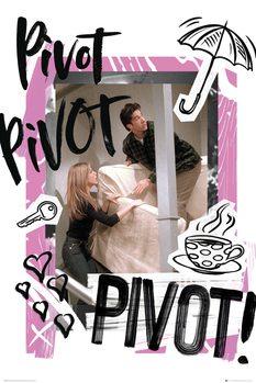 Plagát Priatelia - Pivot
